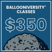 Burton and Burton  Ballooniversity Two Day Ticket for August 11-12, 2017