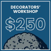 Burton and Burton  Decorators' Workshop Two Day Ticket For August 9 -10, 2017